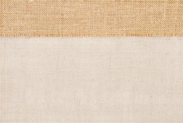 Sackcloth burlap fabric texture