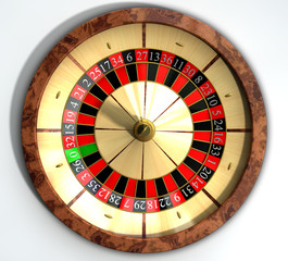 Roulette Wheel Close Top