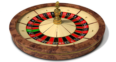 Roulette Wheel Perspective