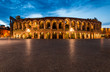 Leinwanddruck Bild - Arena, Verona amphitheatre in Italy