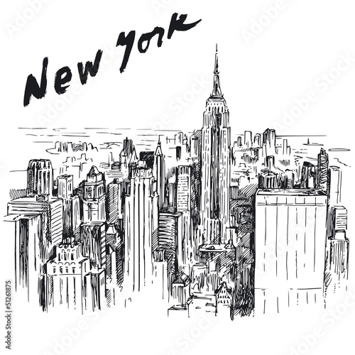 Fototapeten,neu,york,gebäude,manhattan