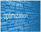 """OPTIMIZATION"" Tag Cloud (engineering design quality analysis)"
