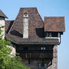 Interesting old house in Nuremberg