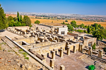 Ruins of  Azahara ancient city near Cordoba, Spain.