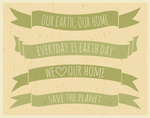 Earth Day Banners