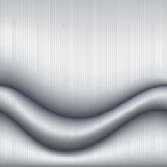 Silver gray background. Waves