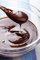 melted chocolate for cooking