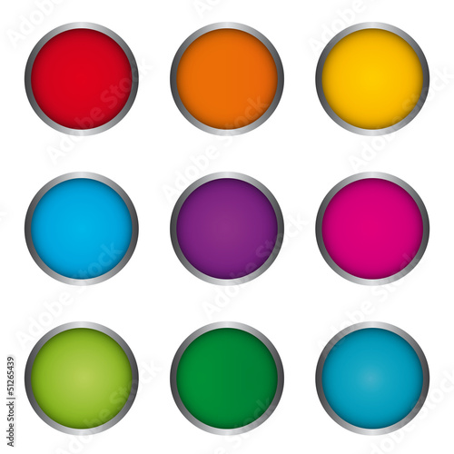 Vector Button Set - Icons