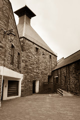 Scottish Whisky distillery
