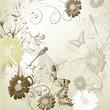 Elegant wedding invitation card for your design