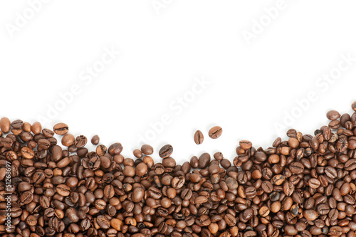 coffee beans with copyspace