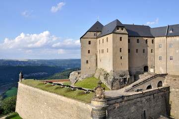 Konigstein fortress, Saxony (Germany)