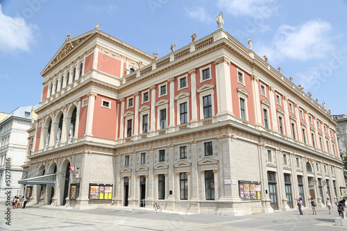 Concert hall in Vienna.