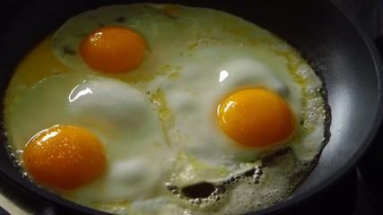 gebratene Eier