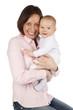 Glückliche Mutter mit Baby - happy mother with baby