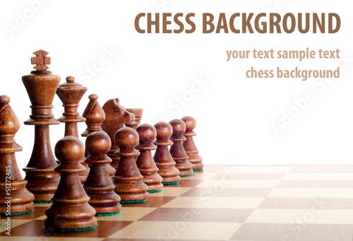 chess background - 51272485