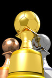 Three trophies (3D)