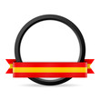 button mit banner spanien I