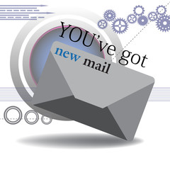 You got new mail