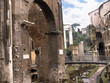 The Portico of Ottavia the Roman fishmarket in Rome Italy