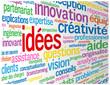 """Nuage de Tags """"IDEES"""" (idées solutions créativité innovation)"""