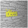"""Nuage de Tags """"IDEES"""" (idées solutions imagination créativité)"""