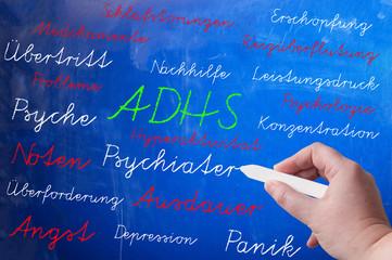 ADHS Aufmerksamkeits-Defizit Syndrom