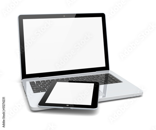 Laptop and tablet pc