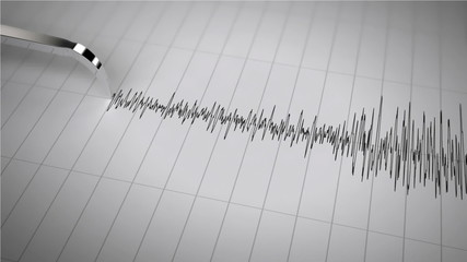 Seismograph is Working