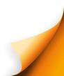 Orange Ecke vector