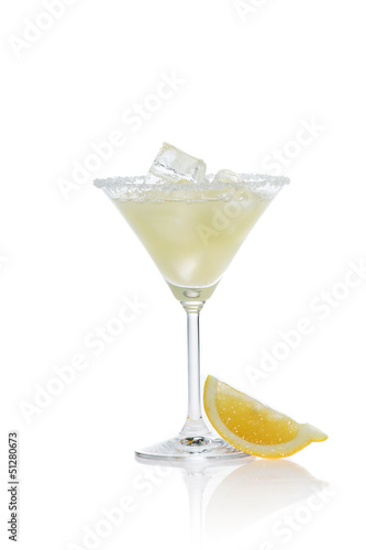 margarita isolated on white