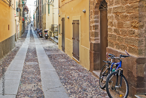 bicycle in the street
