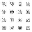SEO & Internet Marketing Icons - Set 1