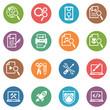 SEO & Internet Marketing Icons - Set 1   Dot Series