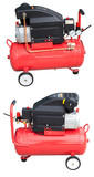 air compressor (front and back) with clipping path.