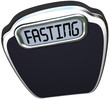 Fasting Word 5-2 Diet Fad Scale Overweight