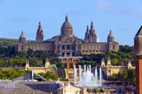 National Museum in Barcelona. Spain