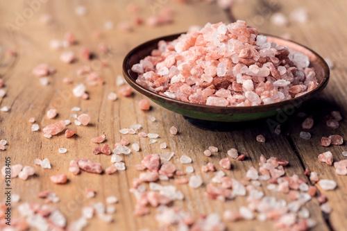 Fotobehang Kruiderij Himalayan salt