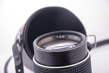 Aperture of the lens