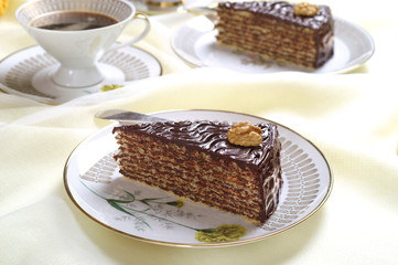 Pischinger waffles - delicious cake