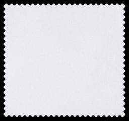 Blank Square Postage Stamp