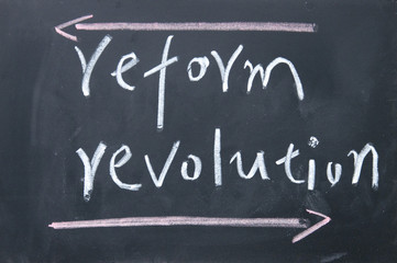 reform or revolution choice