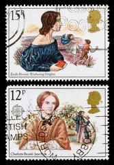 Britain Bronte Sisters Postage Stamp