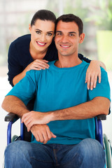 loving wife and handicapped husband