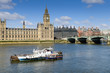 Palais de Westminster à Londres