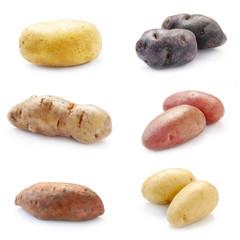 Collage Kartoffelsorten