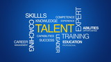 Talent Kinetic Type Text Animation poster
