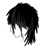 Medium Hair Layers Icon 1