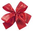 noeud rouge pour emballage cadeau
