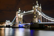 Le Tower Bridge de nuit